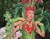 Cathy Guetta au carnaval de Rio