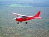 Vol au-dessus de l'Afrique