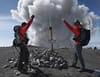 Chasseurs de volcans