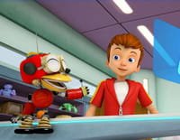 Mon robot et moi : Prise de bec