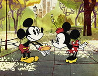 Mickey Mouse : Le couple adorable