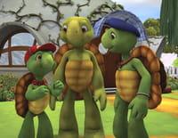 Franklin et ses amis : Franklin et Gaston le gecko