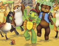 Franklin et ses amis : Franklin dessine un plan