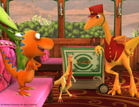 Le Dino train : Le match de dinoballon