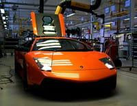 Mega Factories : Lamborghini Aventador