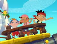 Jake et les pirates du pays imaginaire : L'attaque du pirate mystérieux. - Le grand changement