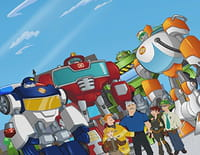 Transformers Rescue Bots : mission protection ! : Une pirate dans la famille