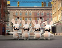 Les lapins crétins : invasion : Radio crétin