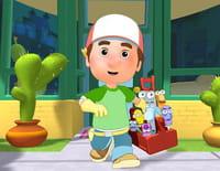Manny et ses outils : Panne sur la ville