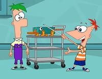 Phineas et Ferb : Mini-golf, maxi effet. - Dans la peau d'une fille