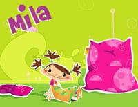 Mila raconte 1001 histoires : Le crocodile et le singe